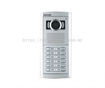 KLP-112/C112.Kocom Black & White & Color Multiple Video Doorphone 12 Houses