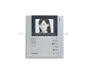 KIV-102.Kocom 4 inch CRT Black & White Handsfree VDP