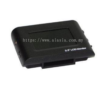 2.5in LCD CCTV TESTER
