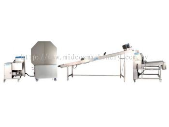 Auto Spring Roll, Samosa Pastry Sheet Making Machine (Double Baking Drum Type)(HM-660)