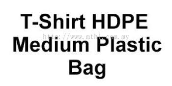 T-Shirt HDPE Medium Plastic Bag