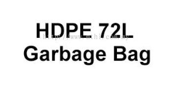 HDPE 72L Garbage Bag