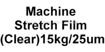 Machine Stretch Film (Clear) 15kg&25um