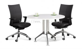 Round Meeting Table with Vitis Leg