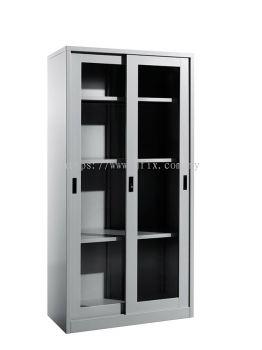 Full Height Cupboard Glass Sliding Door