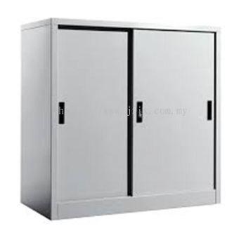Half Height Cupboard Steel Sliding Door