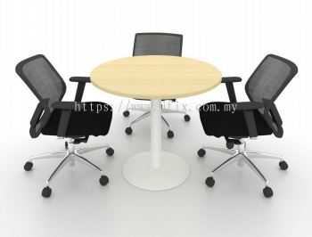 Round Meeting Table with Grum Leg