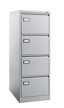 4 Drawer - Filing Cabinet, C/W Goose Neck Handle