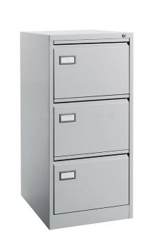 3 Drawer - Filing Cabinet, C/W Goose Neck Handle
