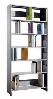 JS605 Library Single Sided Rack, C/W Steel Side Panel