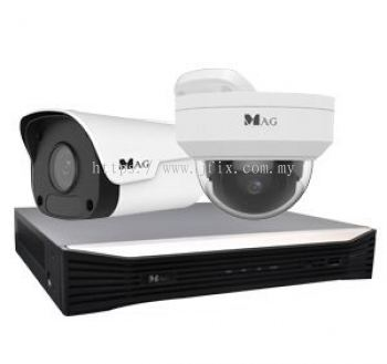 PACKAGE 2 �C 8CH �C 2MP IP Camera Package