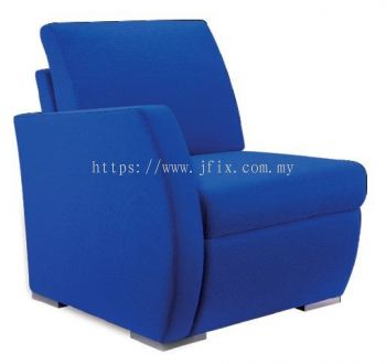 Zita Single Seater Sofa with Right Armrest