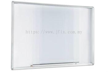 Sliding Glass Cabinet  Aluminium Frame
