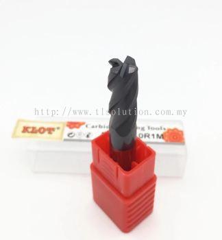 Solid Carbide Corner Radius Cutter