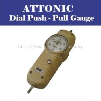 ATTONIC -DIAL PUSH PULL GAUGE