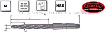 MTS Taper Bridge Machine Reamer (HSS)