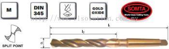 Heavy Duty Morse Taper Shank Drills (HSS COBALT)