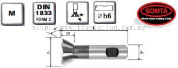 Dovetail Cutters (HSS COBALT)