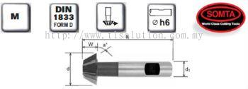 Inverted Dovetail Cutters (HSS COBALT)