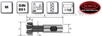 T-Slot Cutters (HSS COBALT)