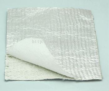 Ceramic Fiber Cloth Aluminium with Stainless Steel Wire Aluminium Foil