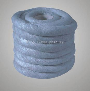 Ceramic Fiber Twisted Rope with Stainless Steel Wire