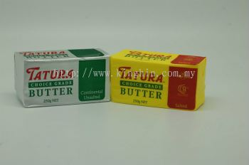 Tatura Butter - 250gm (Salted / Unsalted)