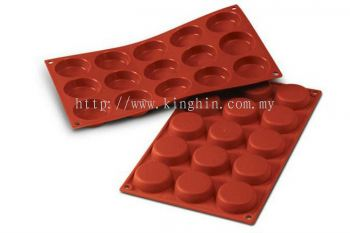 SF044 (5cm x 1.5cm) 15's Flan Mould