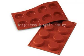 SF045 (6cm x 1.5cm) 8's Flan Mould