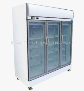 3 door display chiller
