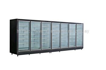 glass door Multidesk showcase