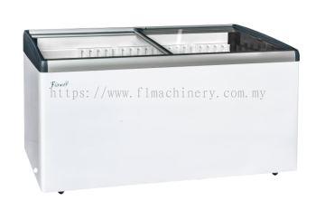 Flower island display freezer (manual defrost)