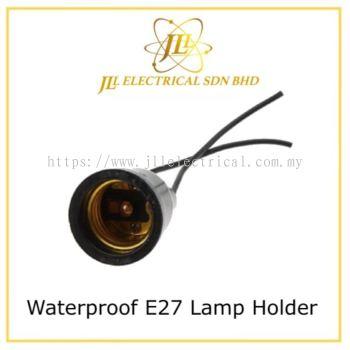 Waterproof E27 Base Bulb Socket Lamp Holder