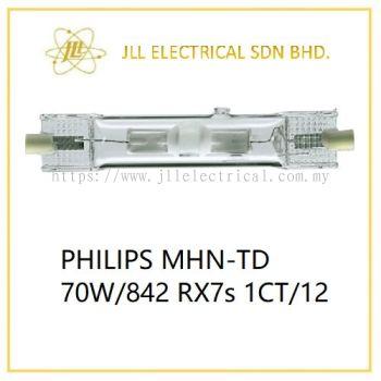 PHILIPS MHN-TD 70W/842 Rx7s 1CT/12 4000k Low Wattage Metal Halide