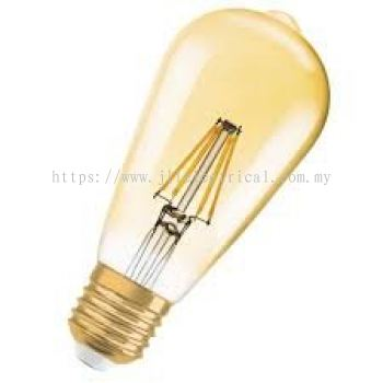 PHILIPS LED CLASSIC GOLD 7-70W 2000K ST64 (DIMMABLE) WARM WHITE