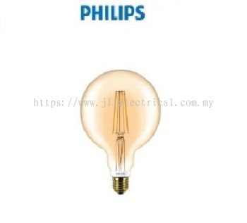PHILIPS LED CLASSIC GOLD 7-60W 2000K (DIMMABLE) G120 Warm White