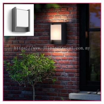 PHILIPS 16460 Arbour Anthracite LED Outdoor Modern Wall Light