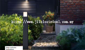 PHILIPS 16463 ARBOUR POST LED ANTHRACITE
