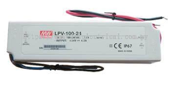 LED DRIVER LPV-100-24 IP67 FOR LED STRIP
