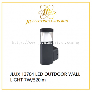 JLUX 13704 LED OUTDOOR WALL LIGHT 7W/520lm