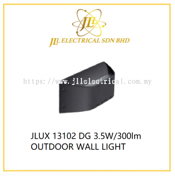 JLUX 13102 DG 3.5W/300lm OUTDOOR WALL LIGHT