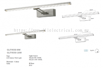 LES GLT4550 LED WALL PICTURE LIGHT
