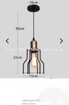 Indoor 8758 LED Pendant Ceiling Light