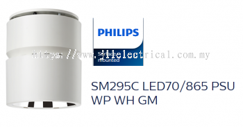 PHILIPS SM295C LED70/865 PSU WP WH GM SURFACE MILO