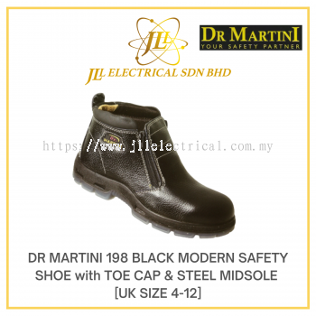 DR MARTINI UK SIZE 4 MODEL 198 MODERN SAFETY SHOE