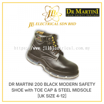 DR MARTINI UK SIZE 4 MODEL 200 MODERN SAFETY SHOE