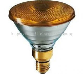 PHILIPS PARTYTONE 80W E27 230V PAR38 Yellow
