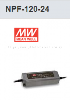 MW MEAN WELL NPF-120-24V POWER SUPPLY LED DRIVER