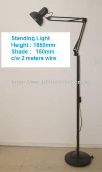 930B-BLK STANDING READING MAKEUP LIGHT