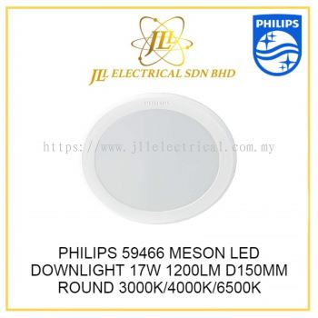 PHILIPS 59466 D150MM MESON LED DOWNLIGHT 17W/1200lm WARM WHITE 3000K ROUND